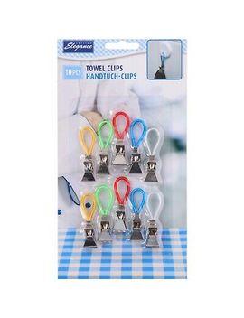 <Span><Span>10 Pcs Tea Towel Hanging Clips Clip On Hooks Loops Hand Towel Hangers</Span></Span> by Ebay Seller
