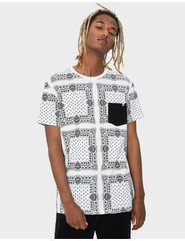 Paisley T Shirt by Bershka