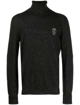 Pullover Mit Totenkopf Patch by Alexander Mc Queen