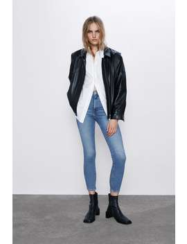 Spodnie Jeansowe Zw Premium '80 S High Waist Venice Blue by Zara
