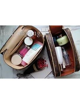 Rectangular Handbag Female Travel Cosmetic Bag New Designer High Quality Men's Wash Bag Brand Double Zipper Cosmetic Bag by D Hgate.Com