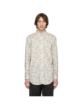 白色 Century 花卉衬衫 by Engineered Garments