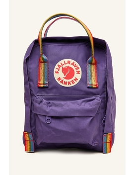 Kanken Rainbow Mini Purple by Fjallraven