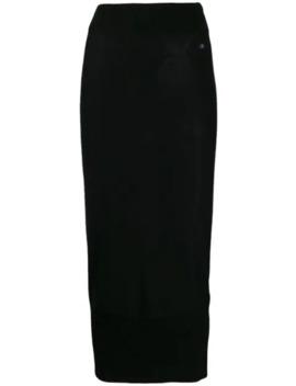 Fine Knit Pencil Skirt by Calvin Klein