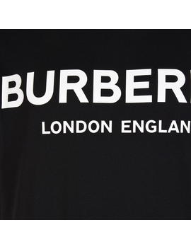 Logo Print Cotton T Shirt by Burberry