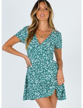 Motel Elara Dress Floral Field by Motel
