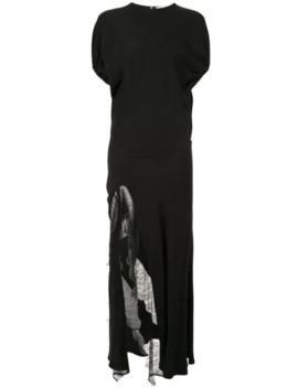 The Ruched Split Dress by Christopher Esber