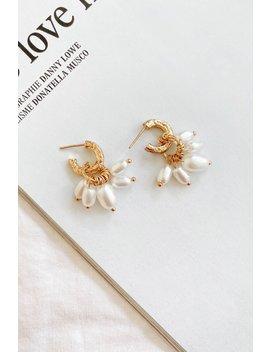 Seashore To City Pearl Earrings by Vergegirl
