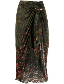 Draped Midi Skirt by Mother Of Pearl