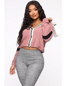 Game Over Cardigan   Mauve by Fashion Nova