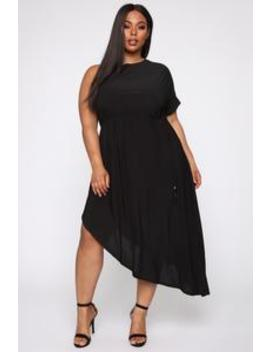 Get To You Again Maxi Dress   Black by Fashion Nova