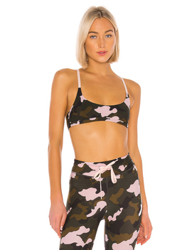 Forest Camo Zoe Bra by The Upside