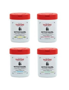 Thayers   Witch Hazel With Aloe Vera Toning Towelettes, 30ct (4 Types) by Thayers