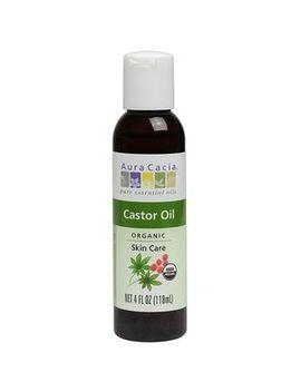 Aura Cacia   Organic Castor Oil 4 Oz by Aura Cacia