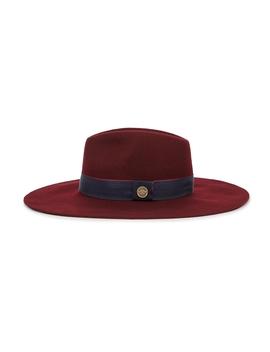 Wimslow Bordeaux Wool Felt Hat by Christys' London