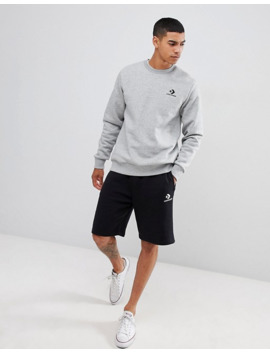 Converse Star Chevron Sweatshirt Grey by Converse