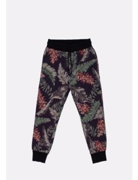 Original Dries Van Noten Floral Multicolored Men Sweatpants Trousers Pants In Size M by Dries Van Noten  ×