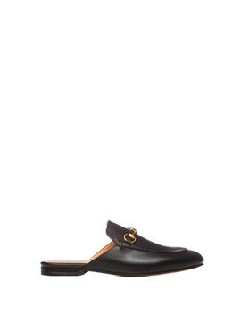 Gucci Gucci Princetown Leather Slipper by Gucci