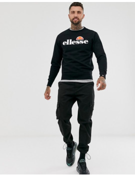 Ellesse Succiso Sweatshirt With Classic Logo In Black by Ellesse