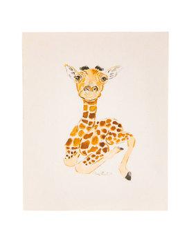 Baby Giraffe Wood Wall Decor by Hobby Lobby