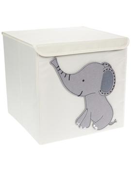 Elephant Cube Bin by Hobby Lobby