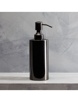 Richter Black Soap Pump by Crate&Barrel