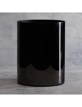 Richter Black Wastebasket by Crate&Barrel