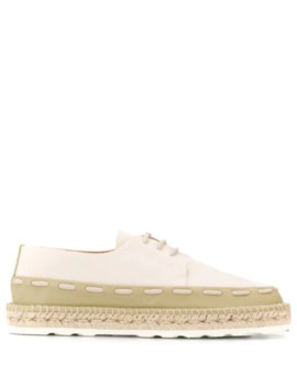 Gala Lace Up Espadrilles by Bottega Veneta