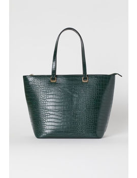 Sac Shopping à Motif Croco by H&M