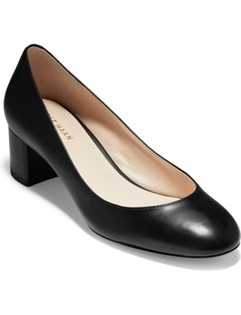 Lesli Block Heel Pump by Cole Haan
