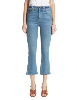 Benny Crop Flare Jeans by Khaite