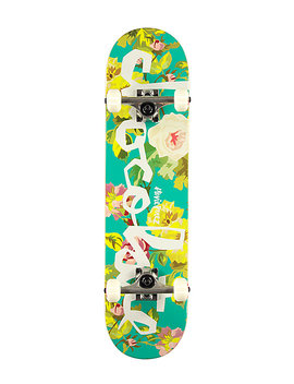 """Chocolate Stevie Floral Chunk 7.75"""" Skateboard Complete by Chocolate"""