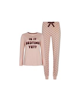 Pijama Bolinhas Cor De Rosa Is It Bedtime Yet by Primark