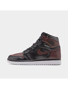 Women's Air Jordan 1 High Og Fearless Casual Shoes by Nike