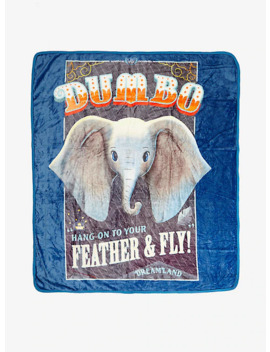 Disney Dumbo Dreamland Plush Throw Blanket by Hot Topic