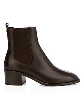 Jemma Leather Chelsea Boots by Aquatalia