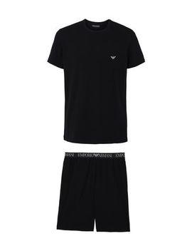 Men's Knit Pyjamas by Emporio Armani
