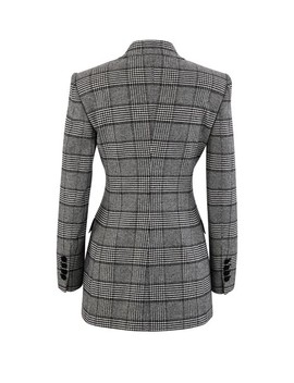 Prince Of Wales Check Blazer by Dolce & Gabbana