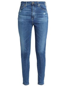 Faded High Rise Skinny Jeans by Ag Jeans