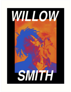 Willow Smith Iridescence Art Print by Tiso Boiteto