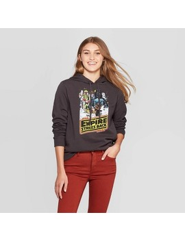 """<Span><Span>Women's Star Wars: Empire Strike Back Star Wars Hooded Sweater (Juniors')   Black</Span></Span><Span Style=""""Position: Fixed; Visibility: Hidden; Top: 0px; Left: 0px;"""">…</Span> by Black…"""