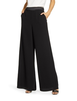 X Hi Sugarplum! Holiday Brigitte High Waist Wide Leg Pants by Gibson
