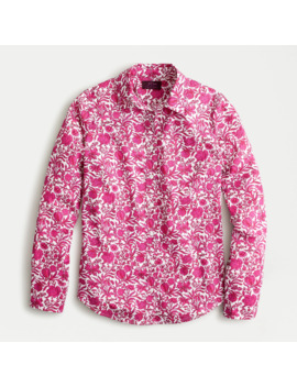 Perfect Shirt In Liberty® Sambourne Floral by Perfect Shirt In Liberty
