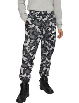 Nike Men's Sportswear Woven Camo Track Pants by Nike