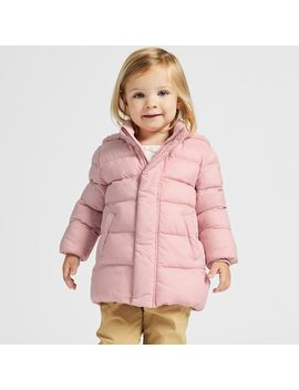 Babies Toddler Warm Padded Coat by Uniqlo