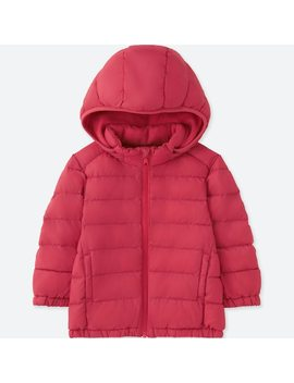 Babies Toddler Light Warm Padded Hooded Parka (2) by Uniqlo