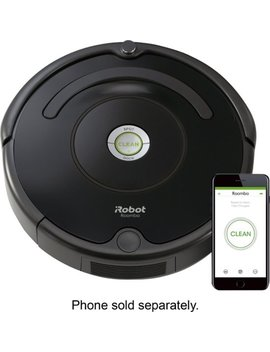 Roomba® 675 App Controlled Robot Vacuum   Black by I Robot
