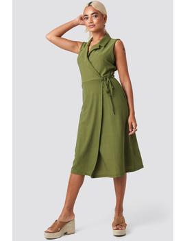 End Midi Dress Green by Trendyol