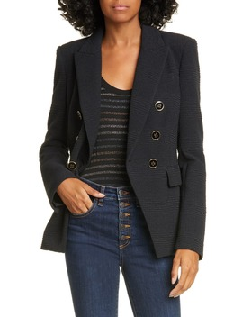 Miller Textured Dickey Jacket by Veronica Beard