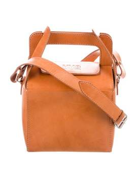 Natural Leather Crossbody Bag by Mm6 Maison Margiela